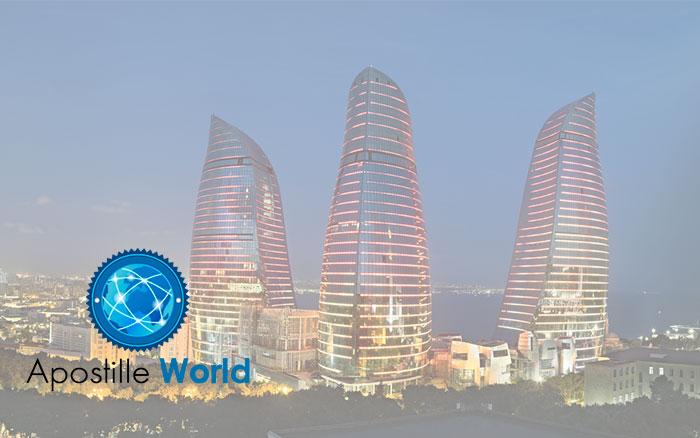 Apostille Document Services, Azerbaijan