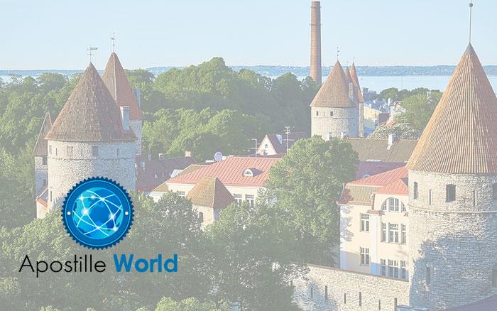Apostille Document Services, Estonia