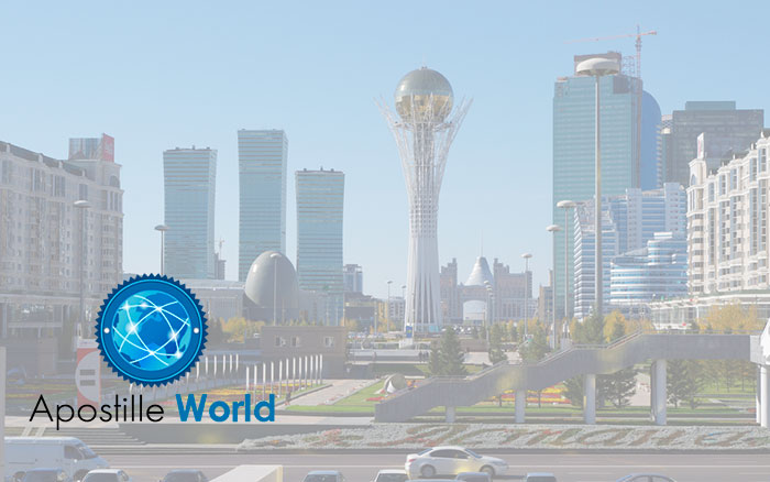 Apostille Document Services, Kazakhstan