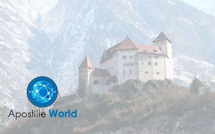Apostille Document Services, Liechtenstein