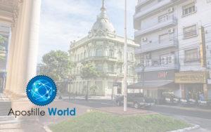 Apostille Document Services, Paraguay