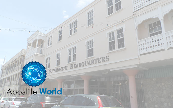 Apostille Document Services, Saint Kitts and Nevis