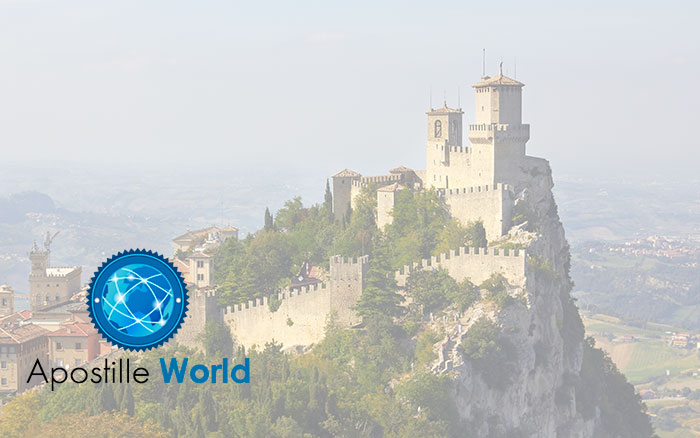 Apostille Document Services, San Marino