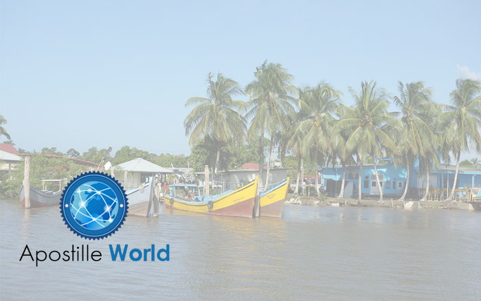 Apostille Document Services, Suriname