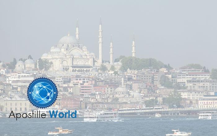 Apostille Document Services, Turkey