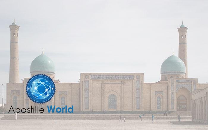 Apostille Document Services, Uzbekistan